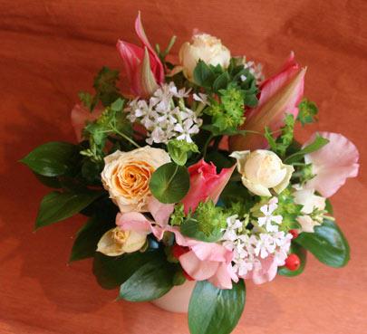 スタンド花 花束 花ギフト 花を贈る フラワーギフト 誕生日花藤岡さん