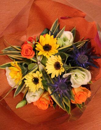 スタンド花 花束 花ギフト 花を贈る フラワーギフト 誕生日花いじちさん花束