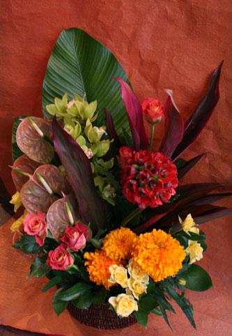 スタンド花 花束 花ギフト 花を贈る フラワーギフト 誕生日花メリア