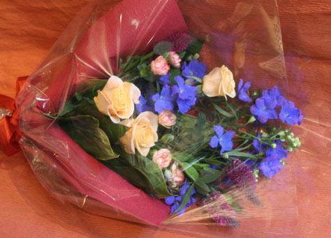 えみこさん花束