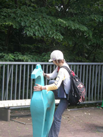トッシーと馬