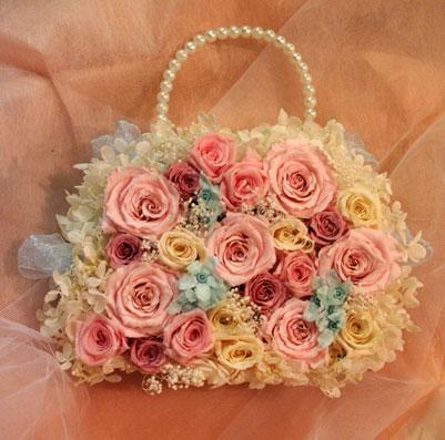 スタンド花 花束 花ギフト 花を贈る フラワーギフト 誕生日花ふくよさん バッグ