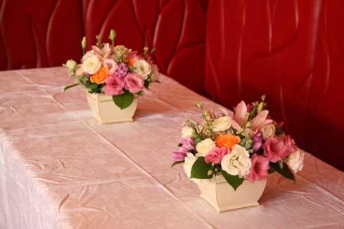 スタンド花 花束 花ギフト 花を贈る フラワーギフト 誕生日花ボエム赤