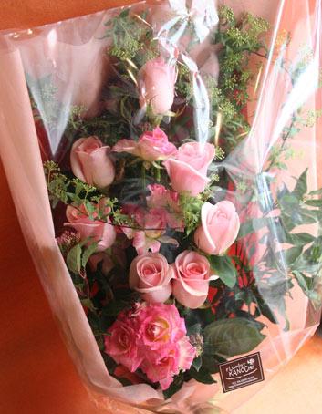 花束 両親