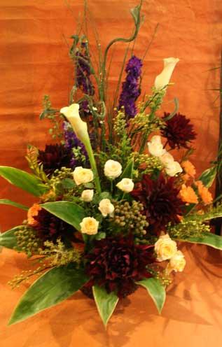 スタンド花 花束 花ギフト 花を贈る フラワーギフト 誕生日花ダリア