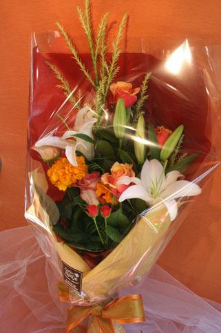 プリンス花束