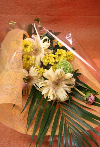 スタンド花 花束 花ギフト 花を贈る フラワーギフト 誕生日花おかもとさん花束