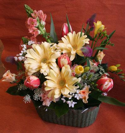 スタンド花 花束 花ギフト 花を贈る フラワーギフト 誕生日花愛さん