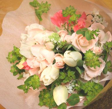 さやかさん花束