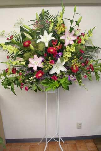 スタンド花 花束 花ギフト 花を贈る フラワーギフト 誕生日花yuri-pw