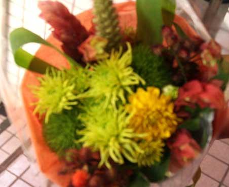ゆかこさん花束