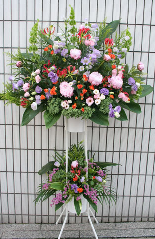 スタンド花 花束 花ギフト 花を贈る フラワーギフト 誕生日花芍薬