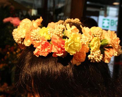 なおこさん 花冠