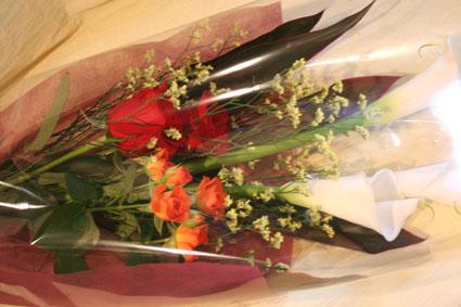 たかしまさん花束