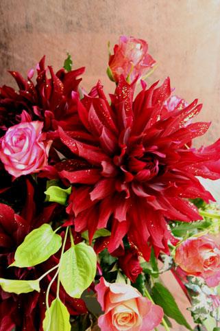スタンド花 花束 花ギフト 花を贈る フラワーギフト 誕生日花キラキラ