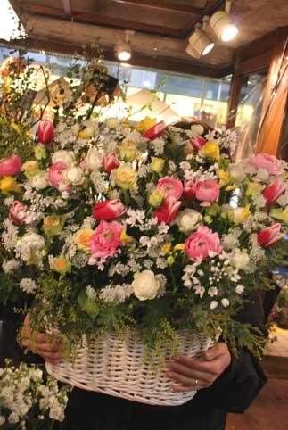 スタンド花 花束 花ギフト 花を贈る フラワーギフト 誕生日花春の花