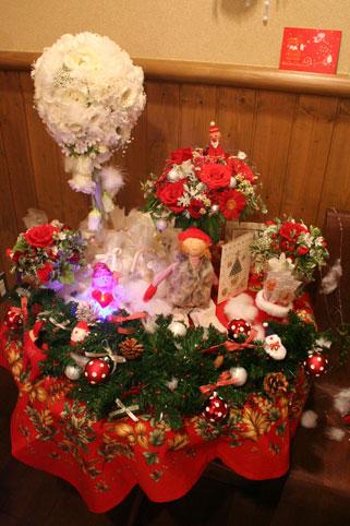会場内クリスマス