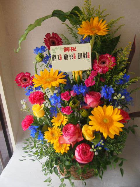 フラワーギフト|誕生日 花 カノシェ話題|スタンド花