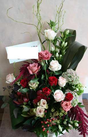 スタンド花 花束 花ギフト 花を贈る フラワーギフト 誕生日花shokora