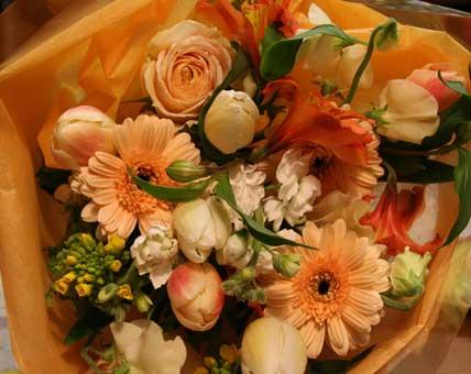 たむちゃん花束