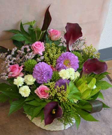 スタンド花 花束 花ギフト 花を贈る フラワーギフト 誕生日花akikara-