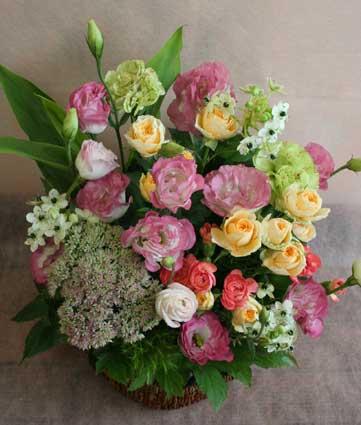 スタンド花 花束 花ギフト 花を贈る フラワーギフト 誕生日花29omimai