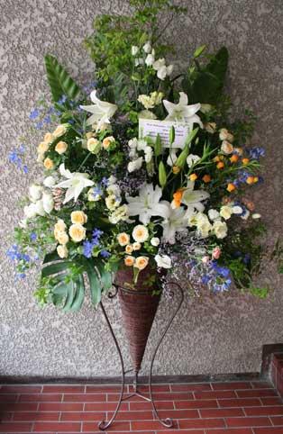 スタンド花 花束 花ギフト 花を贈る フラワーギフト 誕生日花siroyuriko-n