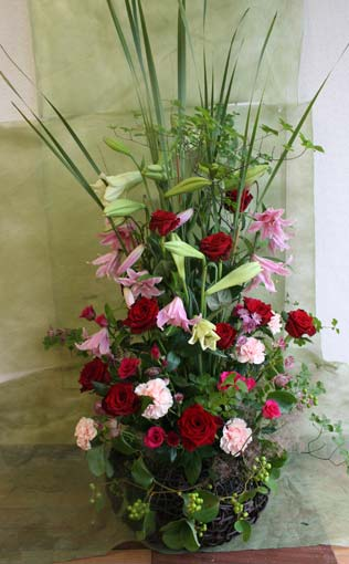 スタンド花 花束 花ギフト 花を贈る フラワーギフト 誕生日花aoisama