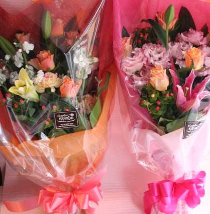 オークラ花束