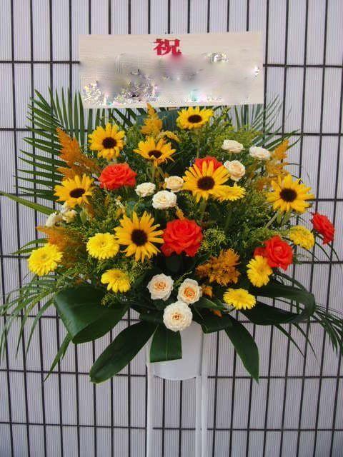 RAINIER HALL SHIBUYA PLEASURE PLEASURE|秋のスタンド花(9月10月)|フラワースタンド スタンド花 カノシェ