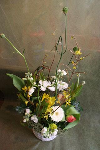 スタンド花 花束 花ギフト 花を贈る フラワーギフト 誕生日花yukakosan-e-suta-