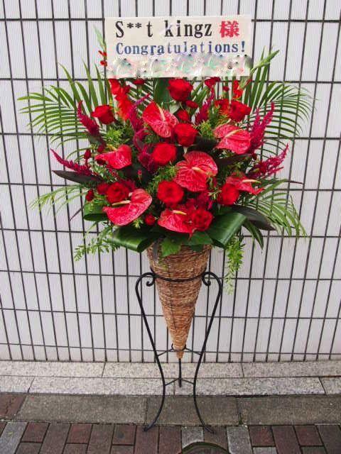 Zeppブルーシアター六本木|秋のスタンド花(9月10月)|フラワースタンド スタンド花 カノシェ